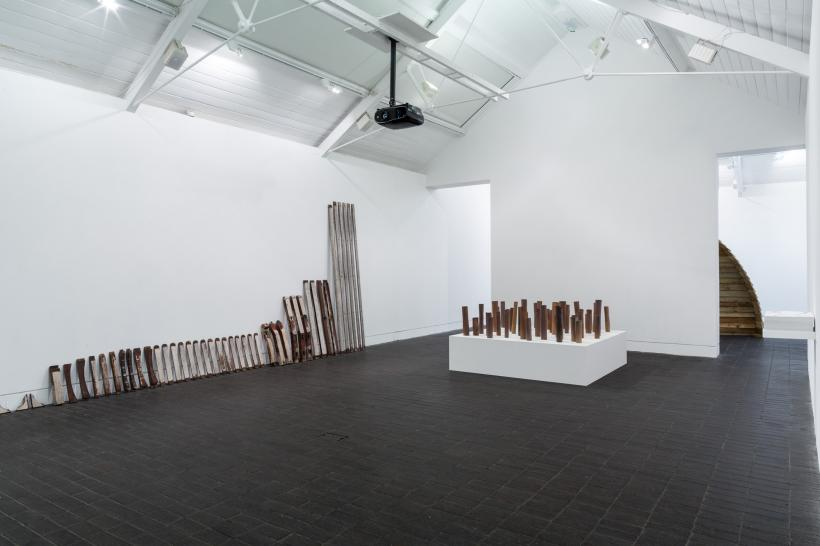 Installation View, Jerwood Open Forest 2016