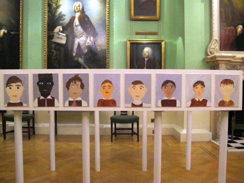 Rachel Emily Taylor: Finding Foundlings, installation view