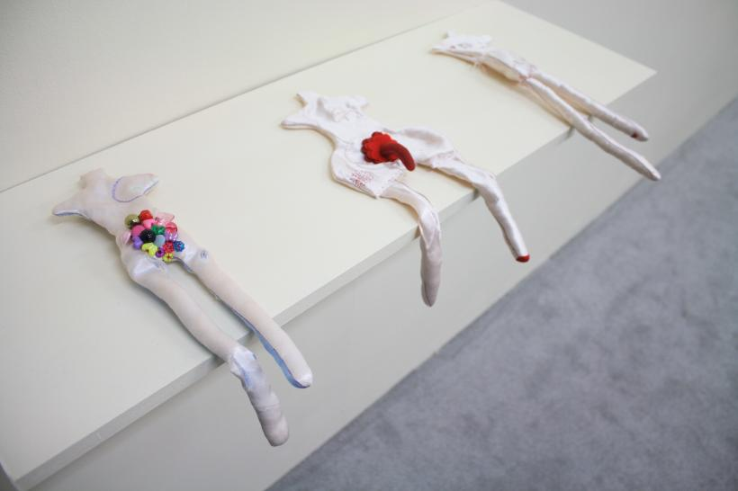 Penny Goring, Damaged Gods, installation view