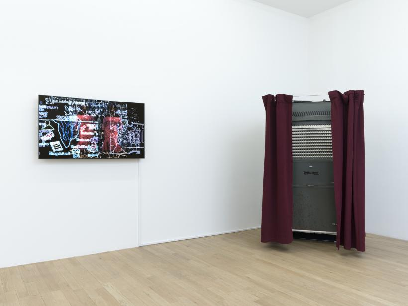 R. Luke DuBois: The Choice Is Yours, installation view at bitform gallery, 2016