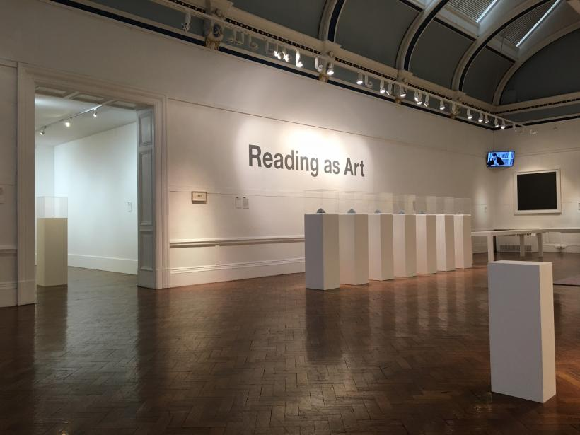 Reading As Art, installation view