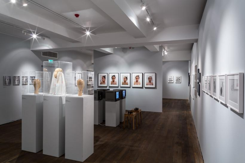 Installation Image of Feminist Avant-Garde of the 1970's- Works from the Verbund collection on display at The Photographers' Gallery at 16-18 Ramillies Street (7 October 2016 – 29 January 2017)