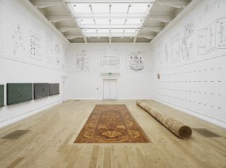 Roman Ondak, The Source of Art is in the Life of a People, installation view at the South London Gallery, 2016.