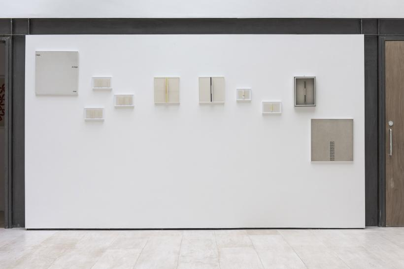 Willys de Castro, From Paintings to Objects, 1950-1965, installation view