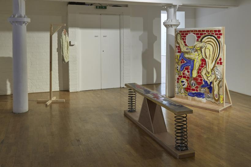 The Vanished Reality, installation view