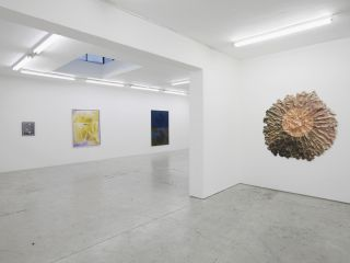 Breather  Installation view, Laura Bartlett Gallery, London, 2016