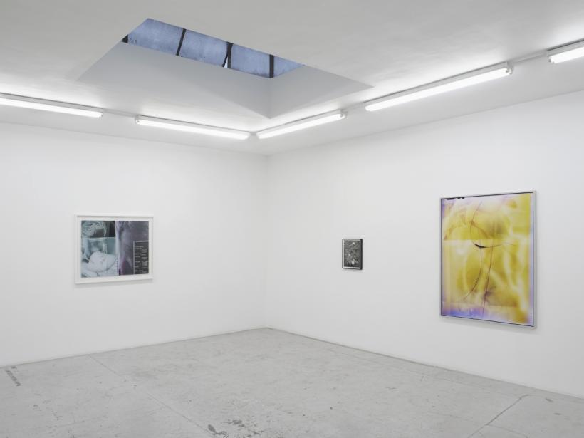 Breather  Installation view, Laura Bartlett Gallery, London, 2016