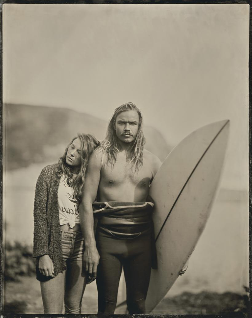 16.02.20 #1 Thea+Maxwell from the series Surfland by Joni Sternbach, 2016