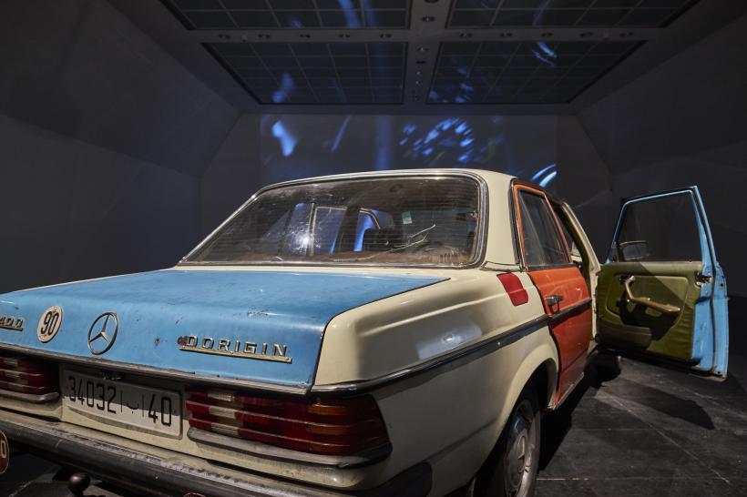 Dorigin, 2016, installation view at  Frankfurter Kunstverein, 2016.