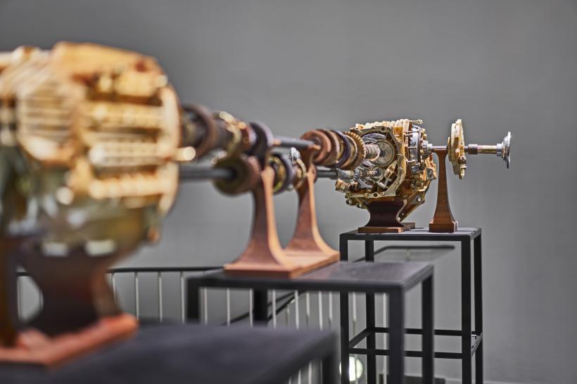VW Passat Gear Box, 2016, installation view at Frankfurter Kunstverein, 2016.