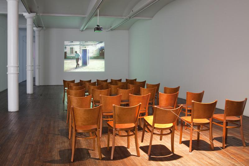 Roman Signer Cinema with Restenfilm VII 2010