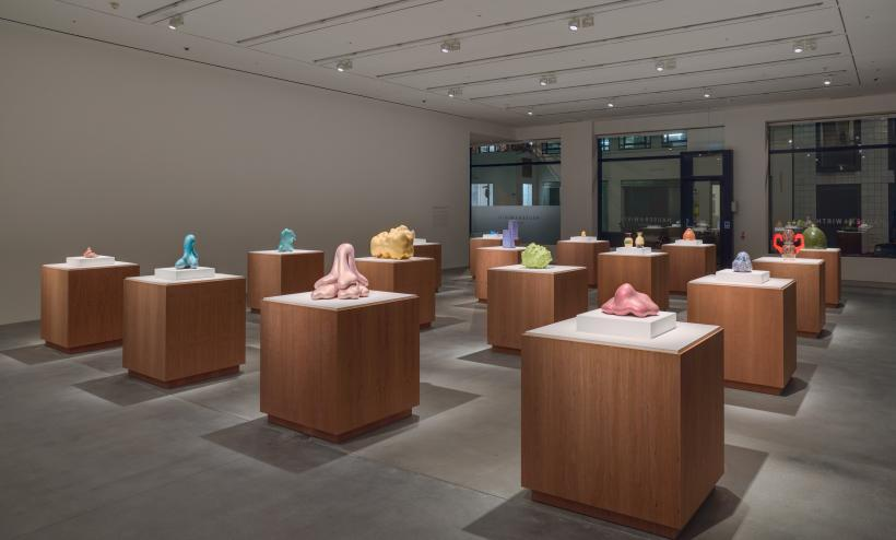 Installation view, 'Ken Price: A Survey of Sculptures and Drawings, 1959 - 2006', Hauser & Wirth London, 2016