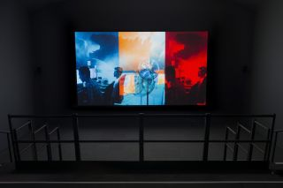 Lucy Raven: Edge of Tomorrow Installation view, Serpentine Gallery, London (8 December 2016 - 12 February 2017)