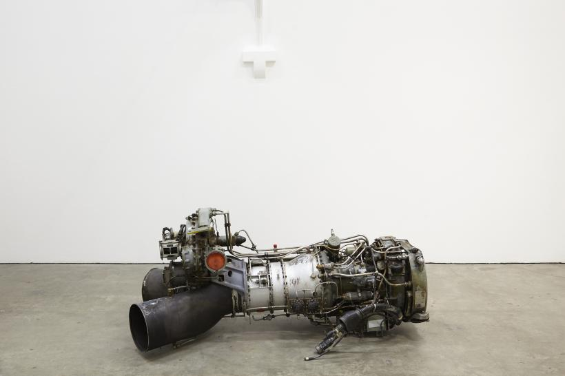 Roger Hiorns, installation view at Ikon galley, 2016