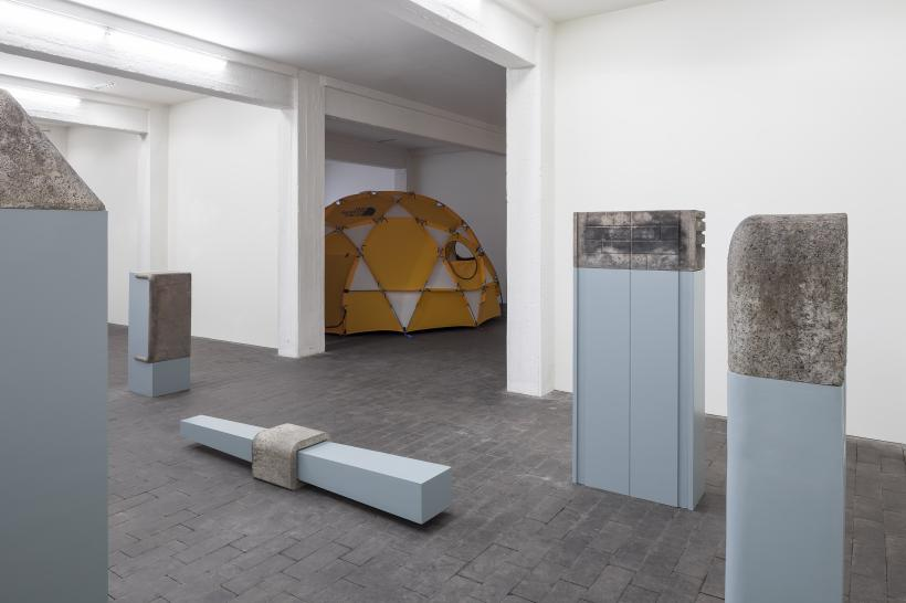 The Ideal Husband, installtion view at Jan Colle Gallery, 2016.