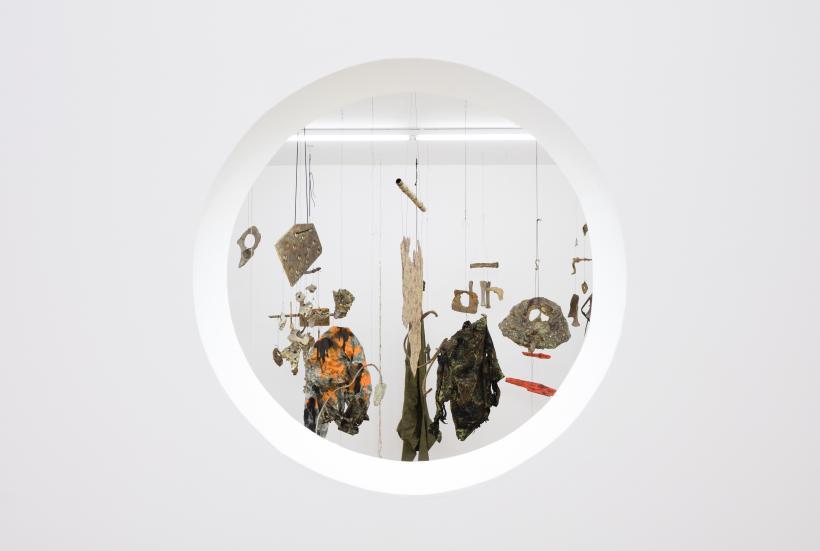 Installation view, Condo: Franziska Lantz, expanding arid zones, Rodeo hosting Supportico Lopez, Rodeo, London, 2017.