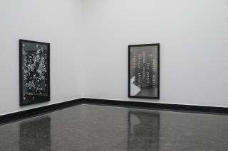 Exhibition view, Emily Wardill, Matt Black and Rat, Bergen Kunsthall 2017