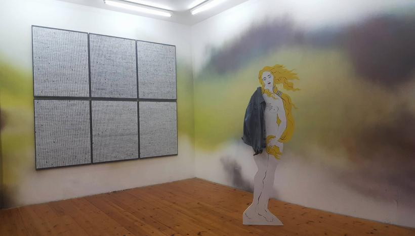 Installation view, you were high when I was doomed, IMT Gallery