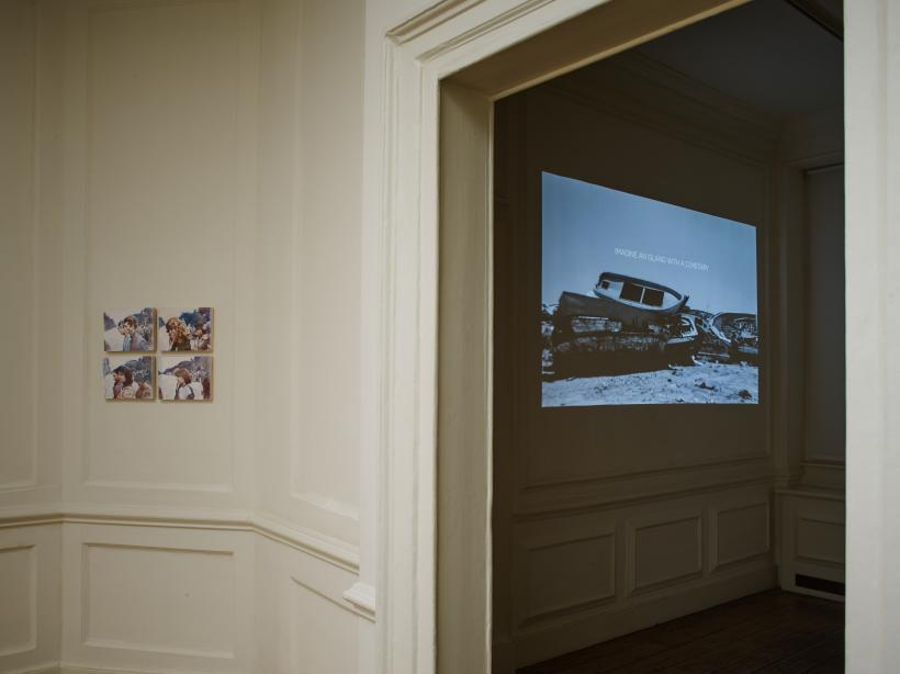 Installation view, Adrian Paci / Giuliana Racco: Another Place, 19 January - 13 April 2017