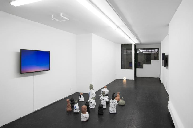 Hannah Black: Soc or Barb, installation view at Bodega, 2017