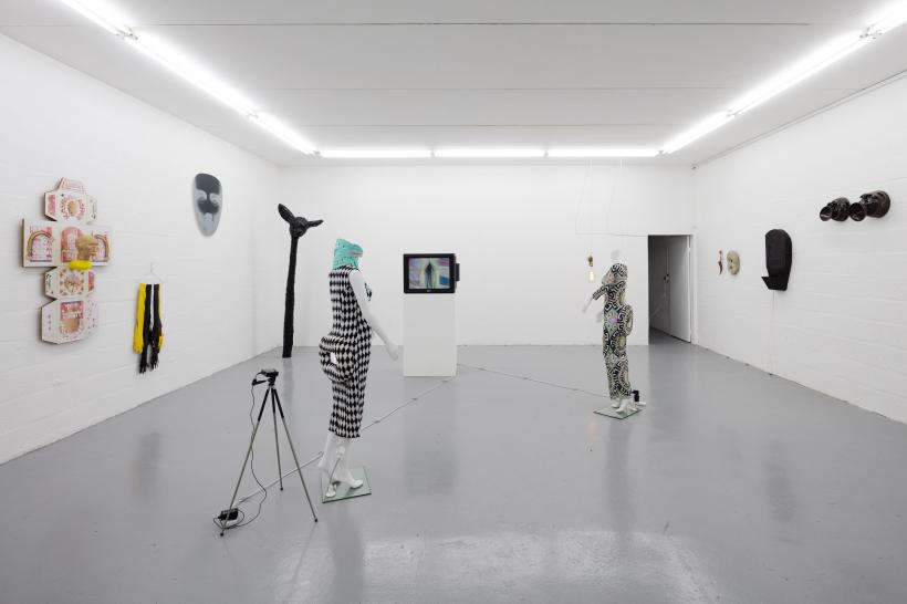 Installation View, Condo: Emalin hosting Galerie Gregor Staiger