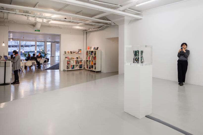 Trevor Paglen, 'Autonomy Cube' 2014. Installation view,Tentsa Konsthall, 2017.