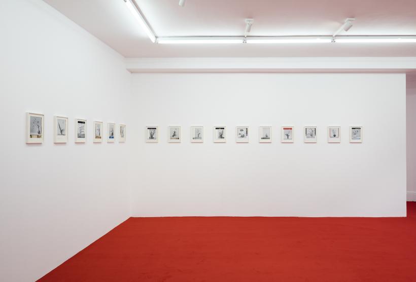 Installation view, Haris Epaminonda, VOL.XIX, Rodeo, London, 2016.