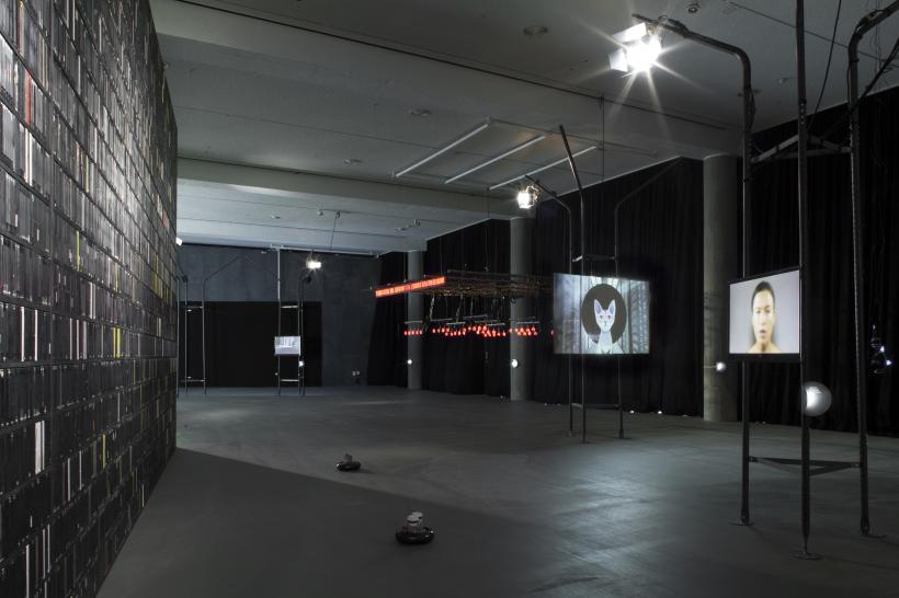 alien matter, installation view at Haus der Kulturen der Welt, 2017.