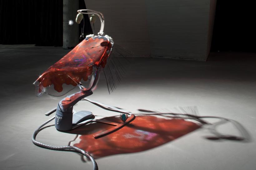 Swoon Motion by Katja Novitskova
