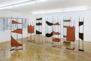 Angelika Loderer, installation view, Secession 2017, Photo: Matthias Bildstein