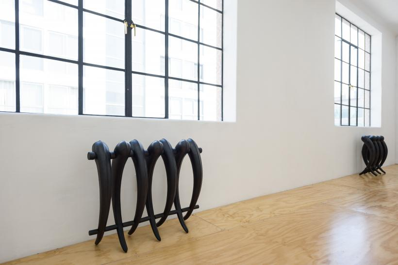Kasia Fudakowski: Bad Basket, installation view at Lodos, 2017