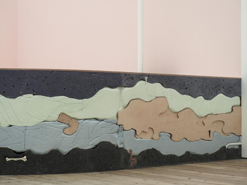 Holly Hendry: Wrot, installation view at BALTIC Centre for Contemporary Art, Gateshead, 2017