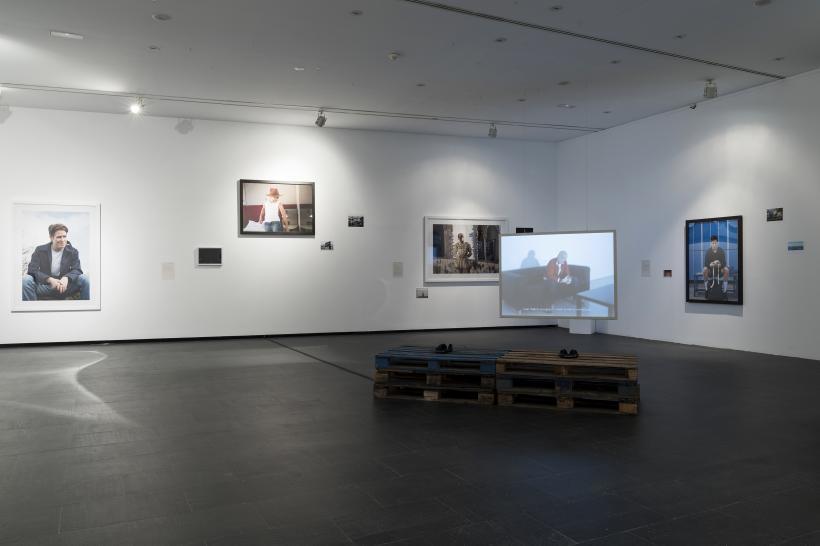 Cabello/Carceller: Draft for an untitled exhibition (Chapter II), installation view at Centro de Arte Dos de Mayo, 2017