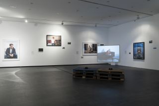 Cabello/Carceller: Draft for an untitled exhibition (Chapter II), installation view at Centro de Arte Dos de Mayo, 2017