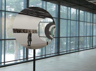 Olafur Eliasson: Pentagonal Landscapes, installation view at EMMA, 2017
