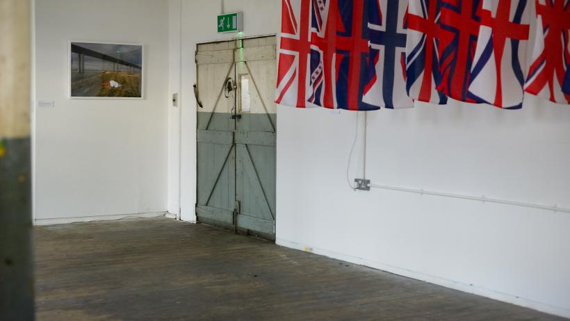 Kristina Cranfeld: In This Perfect British Landscape... installation view at Ort Gallery, 2017