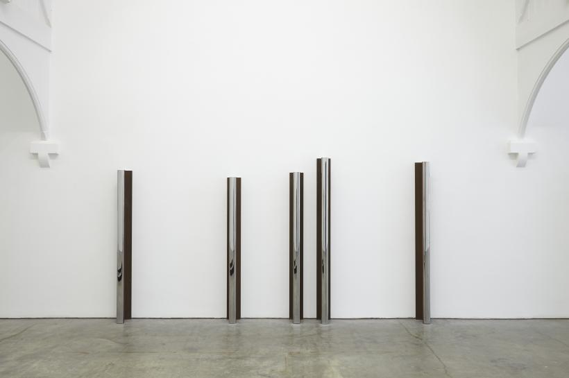 Oliver Beer, installation view at Ikon, 2017