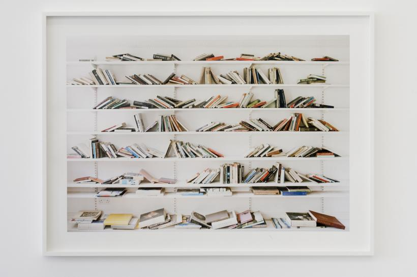 Marion Coutts, Library, 2017. Archival pigment print, Edition of 5 + 2 AP, 110 x 80 cm