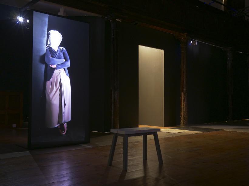 Ipek Duben: THEY / ONLAR, installation view at Fabrica, 2017