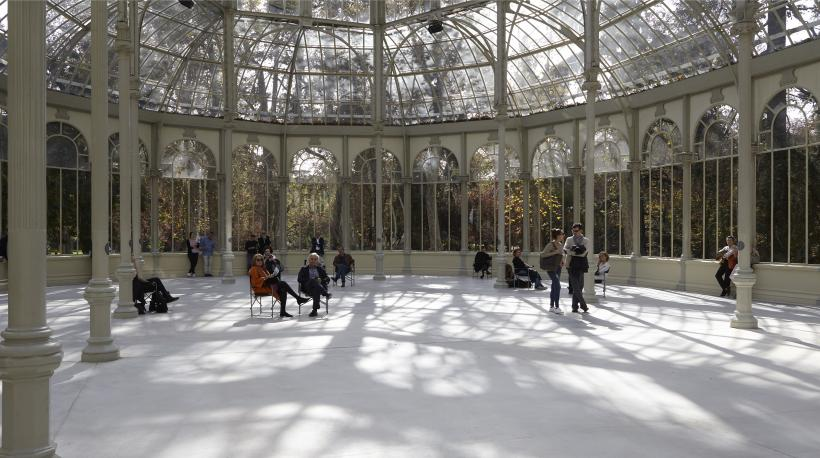 Lothar Baumgarten, The ship is going under, the ice is breaking through, Palacio de Cristal, Museo Nacional Centro de Arte Reina Sofía, 2016.