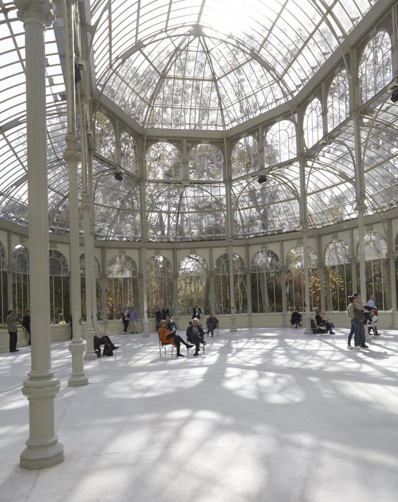 Lothar Baumgarten, The ship is going under, the ice is breaking through, Palacio de Cristal, Museo Nacional Centro de Arte Reina Sofía, 2016.
