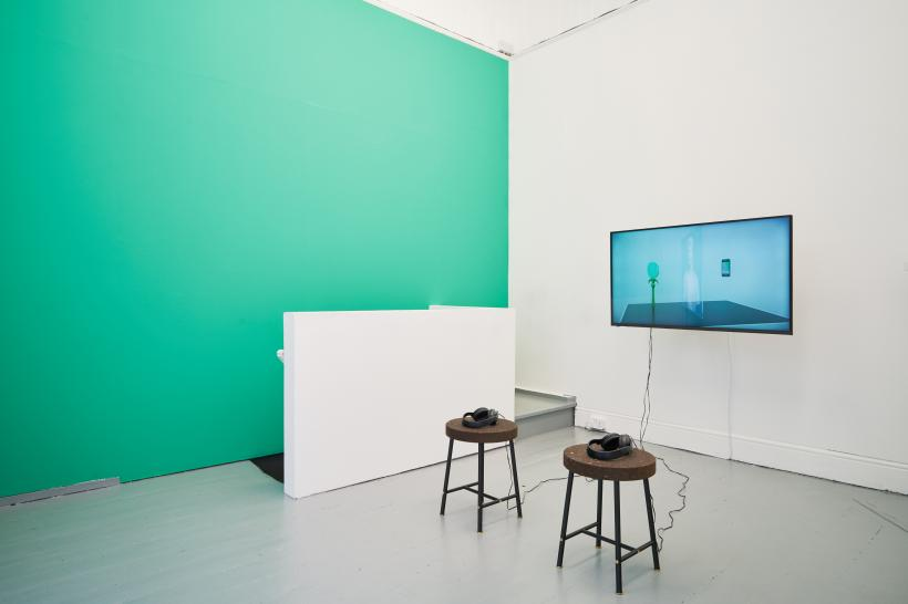 David Ferrando Giraut, CATOPTROPHILIA, 2013. Installation view.