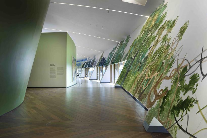 Zhang Enli: Gesture and Form, installation view at Firstsite, 2017