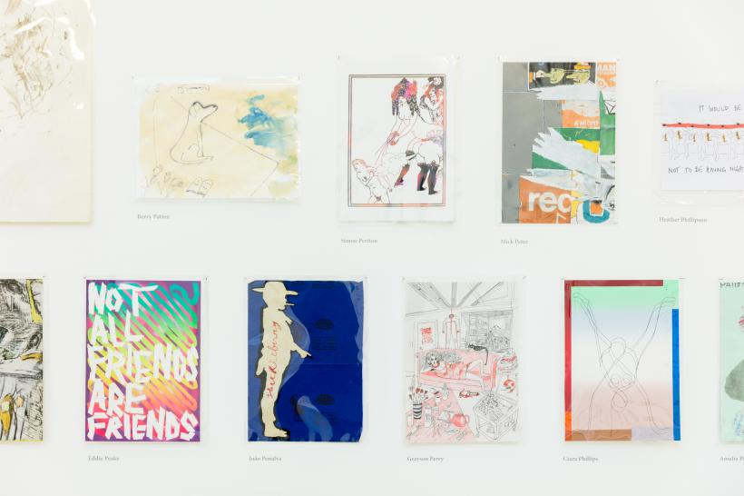 Drawing Biennial 2017, Photography by Dan Weill