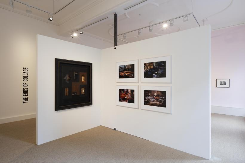 Installation view, The Ends of Collage, Luxembourg & Dayan, London, 10 March - 13 May 2017