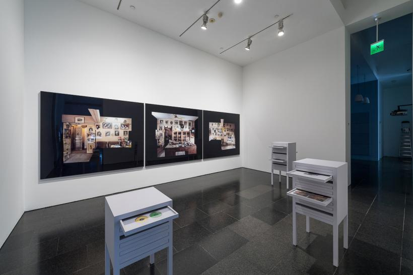 Akram Zaatari, Against photography. An annotated history of the Arab Image Foundation, exhibition view, MACBA, 2017. Photo: Miquel Coll