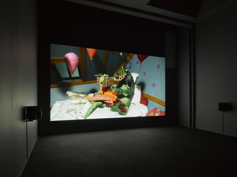 Nathalie Djurberg & Hans Berg. Installation view, Who am I to Judge, or, It Must be Something Delicious, Lisson Gallery London, March 2017