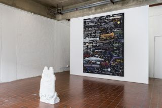Mathis Gasser, The Dark Forest, installation view
