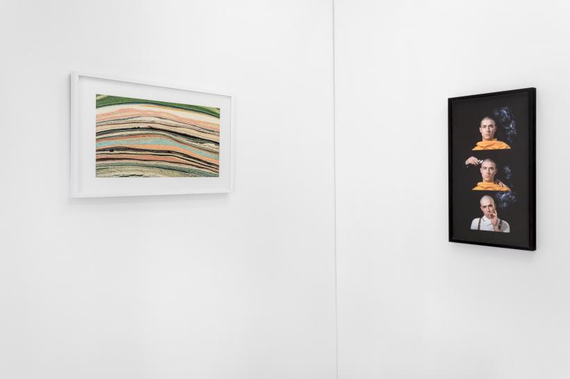 John Smith, Films in Sheep's Clothing, Dad's Stick(left), 2017, Om (right),2017, ALMA ZEVI, 2017