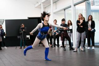 SIREN, 2017. Louisa Martin. Co-choreographed with and performed by Masumi Saito.